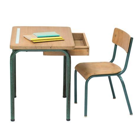bureau et chaise pour bébé bureau et chaise scandinave vintage enfant bureau et
