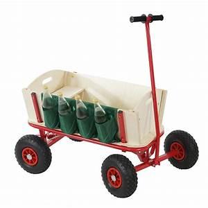 Bollerwagen Mit Dach : bollerwagen mit flaschenhalter handwagen leiterwagen opt mit bremse sitz dach ebay ~ Whattoseeinmadrid.com Haus und Dekorationen