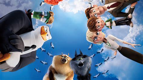 wallpaper wolf pack hunter storks   animation