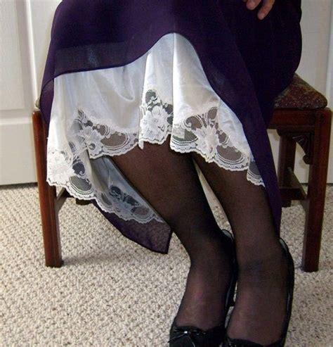 629 best peek a boo on petticoats nightgowns and satin slip