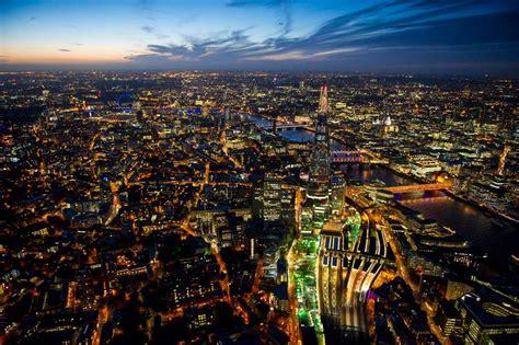 night city light aerial views xcitefunnet