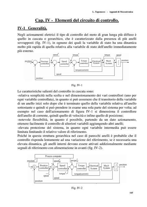 azionamenti elettrici dispense meccatronica introduzione dispense