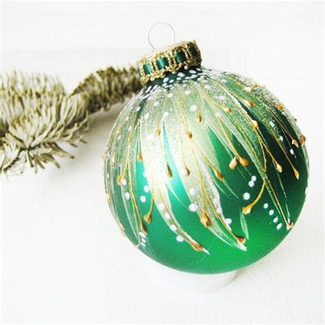 faberge inspired christmas ornament emerald