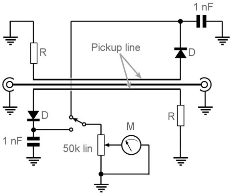 simple swr meter circuit reflectometer electronics notes