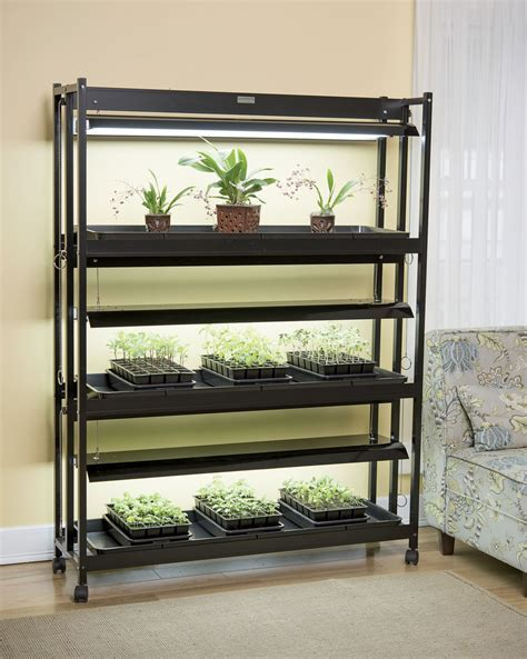 High Intensity Grow Lights: 3 Tier Sunlite® Garden