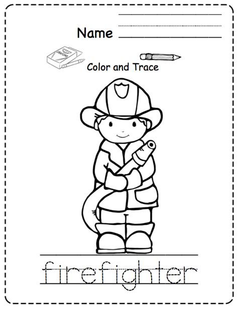 toddler community helpers preschool printables 246 | 4