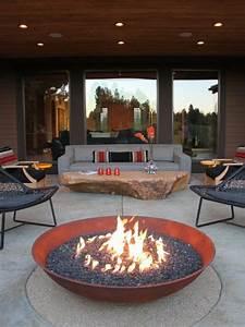 1001 ideen fur die moderne terrassengestaltung for Feuerstelle garten mit milchglas balkon preise