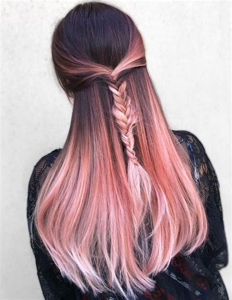 rose gold hair color ideashealth beauty tv