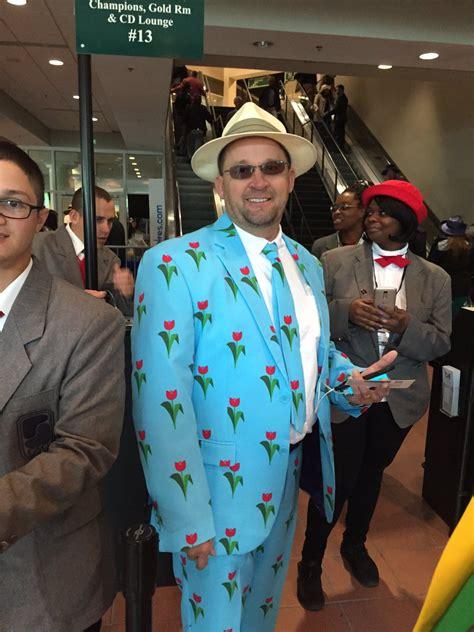 basically  guy   kentucky derby wore  flashy