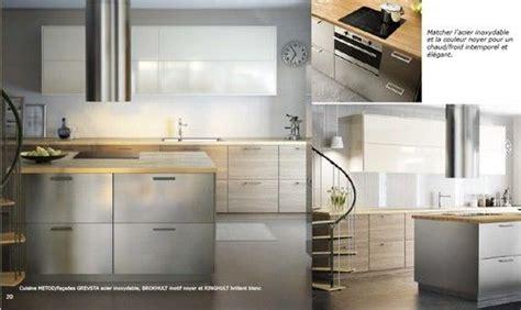 facade cuisine ikea cuisine metod facades grevsta acier inoxydable brokhult