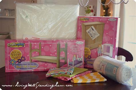 25190 diy american doll bed diy american doll bed living well spending less 174