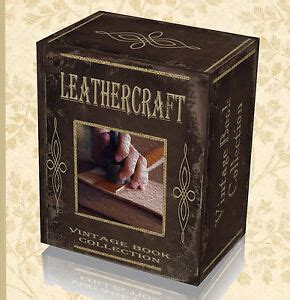rare craft leather work books  dvd learn tanning