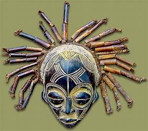 Masks From Africa: African Mask Chokwe Male