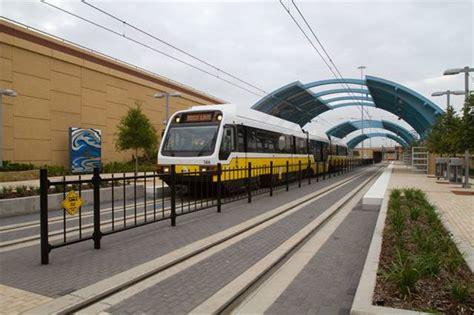 dallas light rail dart opens orange line light rail rail metro magazine