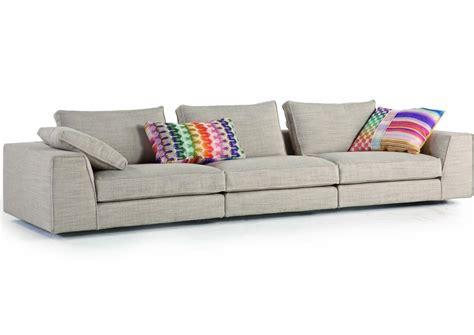 divano sfoderabile in tessuto eole by roche bobois
