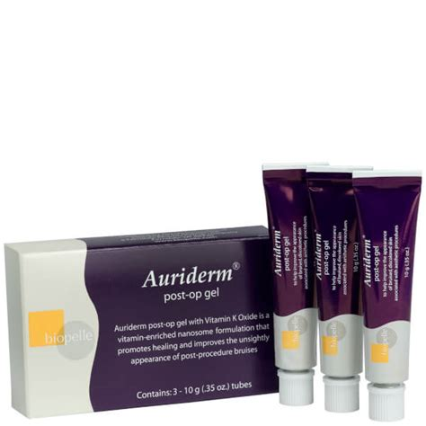 Auriderm Post-Op Gel (3 Pack) | SkinStore