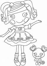 Coloring Pages Doll Rag Lalaloopsy Cartoon Lulav Printable Dolls Drawings Etrog Mermaid Getcolorings Sheets Nice Wecoloringpage Drawing American Colorful Discover sketch template