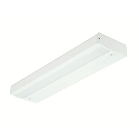 direct wire under cabinet lighting commercial electric 12 in white led direct wire under