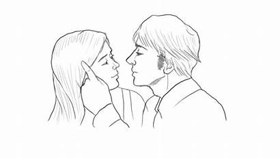 Kissing Drawing Kiss Lips Archives Getdrawings