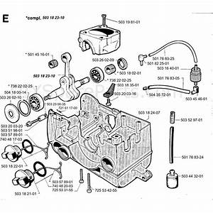 Jonsered 2054  1994  Parts Diagram  Page 5