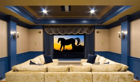 cool basement home theater ready  entertain reverb