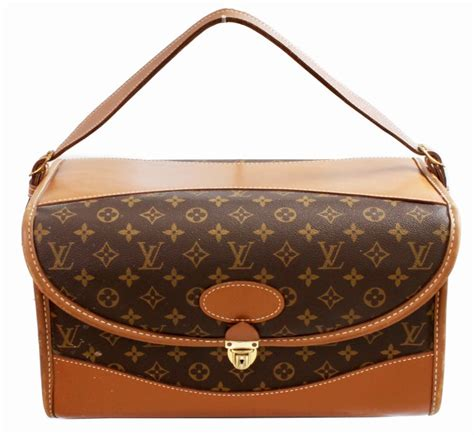 louis vuitton vintage train case monogram canvas carry  vanity bag luggage   stdibs