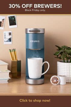 Shop for coffee & espresso makers in kitchen appliances. Keurig K-Mini Plus, Single Serve K-Cup Pod Coffee Maker, Evening Teal - Walmart.com in 2020 ...