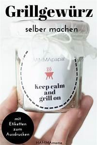 Essbare Geschenke Selber Machen : der sommer kommt schnell noch ein sauleckeres grillgew rz selber machen ein top geschenk ~ Eleganceandgraceweddings.com Haus und Dekorationen