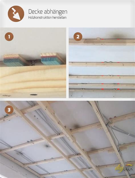 decke abhängen holz oder metall decke abh 228 ngen holzkonstruktion herstellen anleitung tipps vom maurer trockenbau