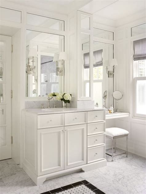 outstanding bathroom vanity  makeup counter ideas