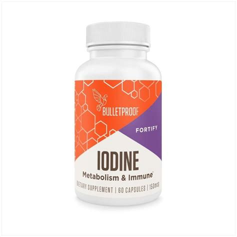 bulletproof iodine  capsules discontinued charcoal