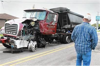 Crash Truck Fire Antioch Sand County Ct