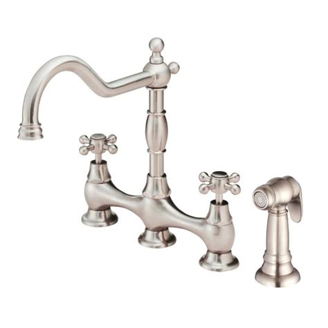 bridge style kitchen faucets danze kitchen faucets the opulence collection