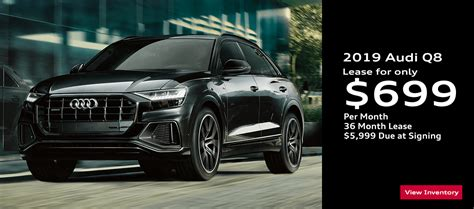 the 2019 audi q8 all new high performance sport suv for sale at audi gilbert audi gilbert