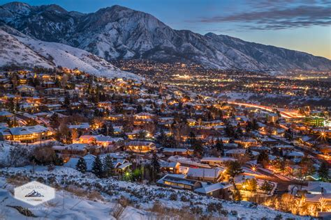 Christmas Lights Snow Wallpaper Winter Begins The Holidays James Udall