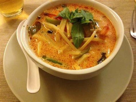 cuisine lait de coco soupe de crevettes au curry et lait de coco