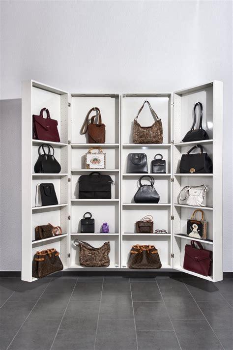 handtaschen aufbewahren ideen handtaschen aufbewahrung schrank wohn design