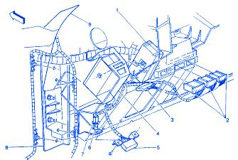 Chevy Suburban Instrument Panel Electrical Circuit