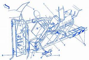 Chevy Suburban 2002 Instrument Panel Electrical Circuit