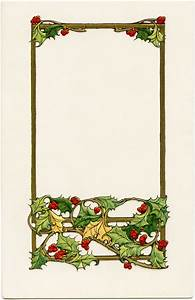Vintage Yuletide Greetings Christmas Postcard ~ Free
