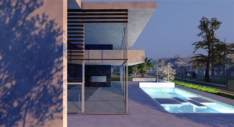 Contemporary Cocoon House by Will We Be Modern Or Contemporary Again Second