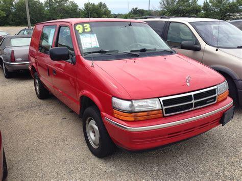 1993 Dodge Caravan by Curbside Capsule 1993 Dodge Caravan C V For The Who
