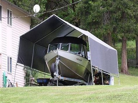 Boat Shelter Ideas by New Starcraft Owner Page 1 Iboats Boating Forums