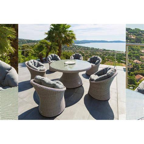 table ronde en resine tressee beautiful salon de jardin table ronde resine images awesome interior home satellite delight us