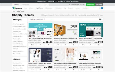 premium shopify templates   theme
