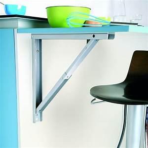 Support Pour Table Rabattable : support de table rabattable aluminium sokleo oskab ~ Melissatoandfro.com Idées de Décoration