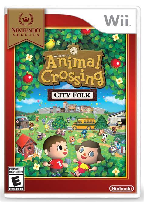 Amazon Nintendo Selects Animal Crossing City Folk For