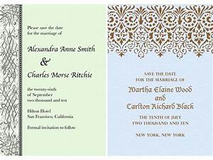 classic patterned paperless wedding invitations With paperless destination wedding invitations