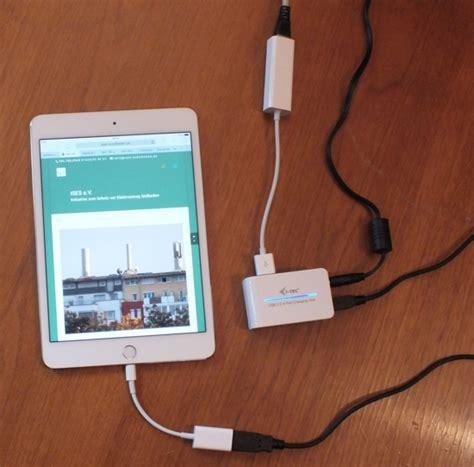 tablets ueber ethernet kabel mit dem internet verbinden ises