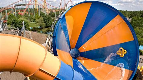 tornado rides virginia water kings park dominion ride waterslides slide slides down funnel wacky pool giant tube inside spit dam